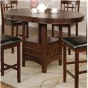Crown Mark Hartwell Counter Height Table - Item Number: 2795T-4260