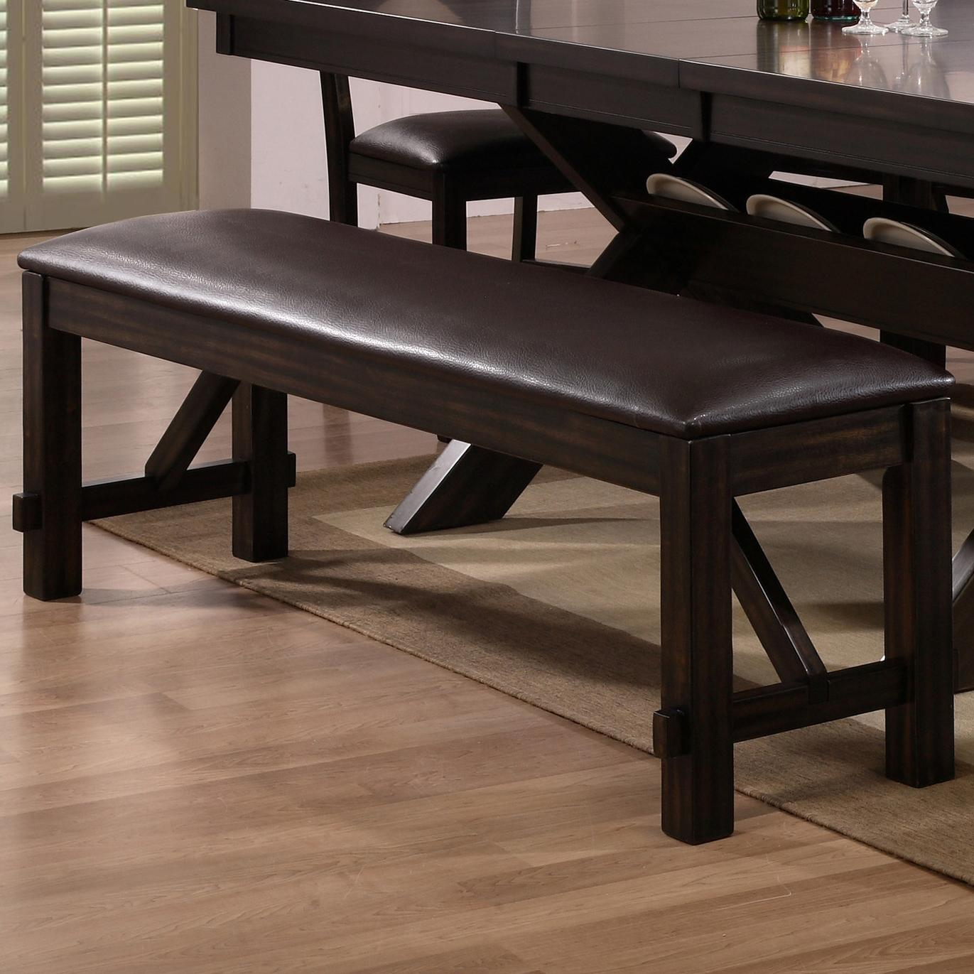 Crown Mark Havana Dining Bench - Item Number: 2335-BENCH