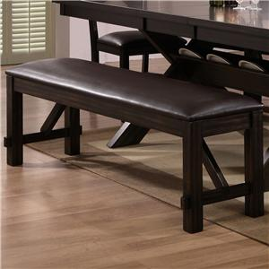 Crown Mark Havana Dining Bench