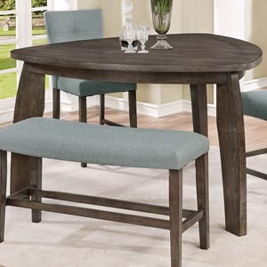 Belfort Essentials Hollis Triangle Counter Height Table