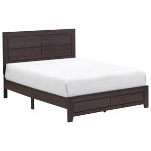 Queen Platform Bed in One Box