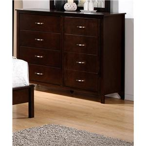 Crown Mark Ian Dresser