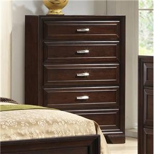 Crown Mark Jacob Chest of Drawers