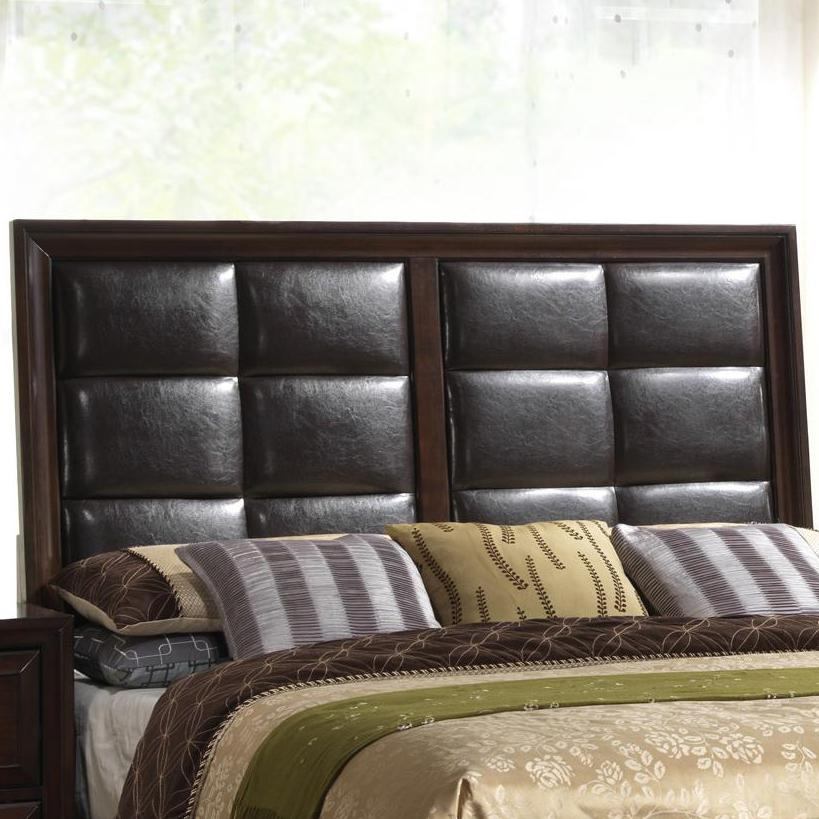 Crown Mark Jacob B6510 Q Hb Queen Upholstered Panel