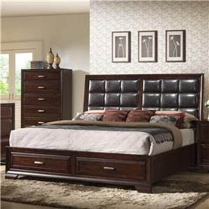 Crown Mark Jacob Queen Storage Bed