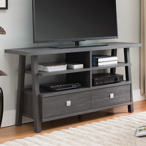 Crown Mark Jarvis Tv Stand Assembled Drawers