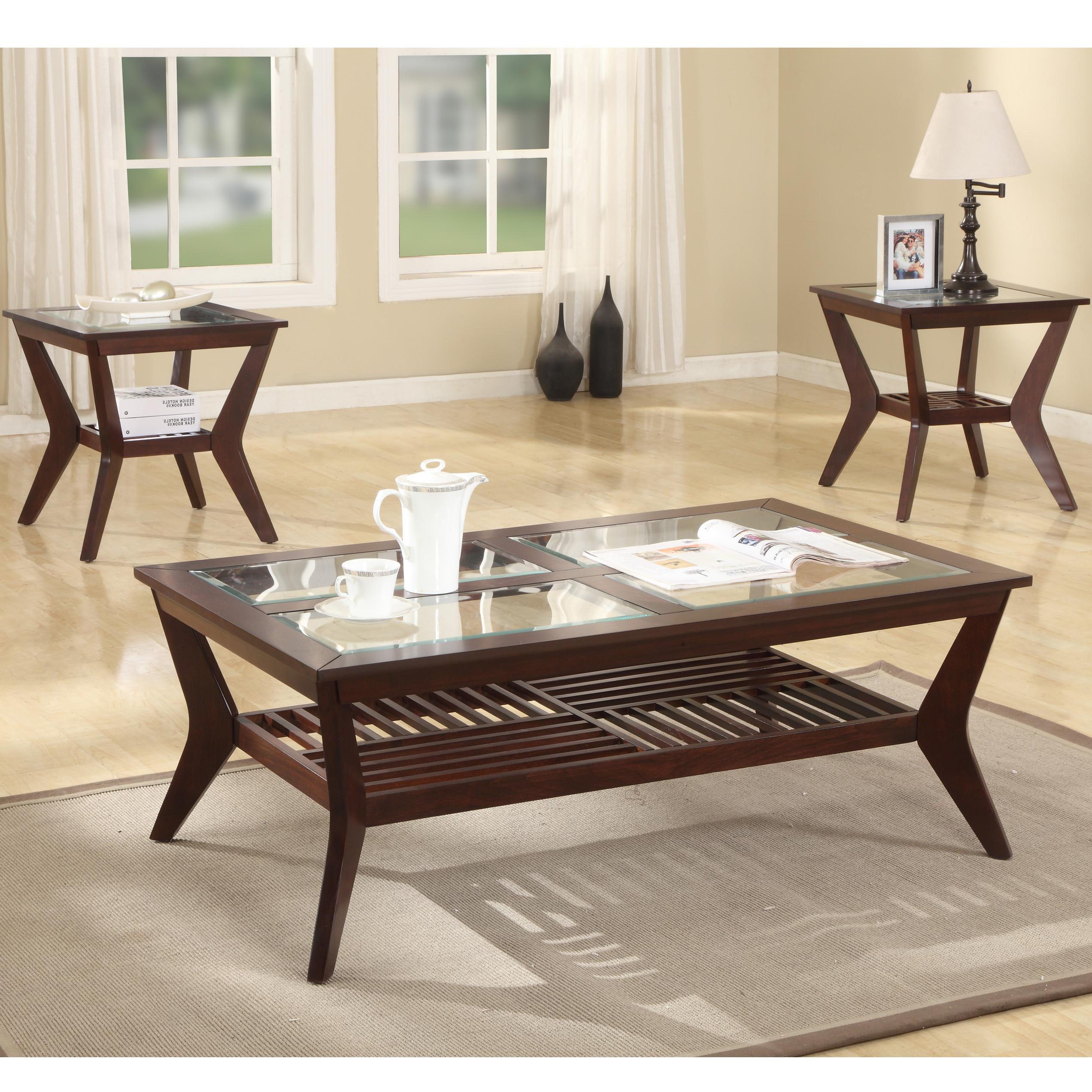 Crown Mark Jayden 3 Pack Tables - Item Number: 4207SET