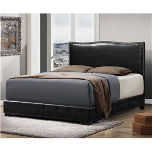 Crown Mark Jesper King Upholstered Bed