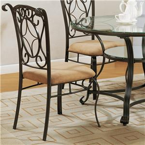 Crown Mark Jessica Side Chair