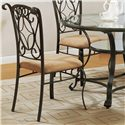 Crown Mark Jessica Side Chair - Item Number: 1843S