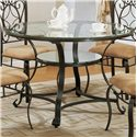 Crown Mark Jessica Dinette Table - Item Number: 1843T-48+GL
