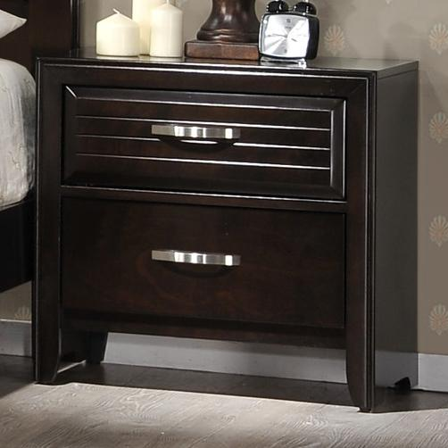 Crown Mark Jocelyn Nightstand - Item Number: B7400-2