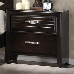 Crown Mark Jocelyn Nightstand