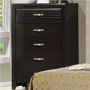 Crown Mark Jocelyn Chest of Drawers