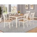 Crown Mark Josie Table and Chair Set - Item Number: 2432SET