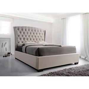 Crown Mark Kaitlyn Queen Headboard and Footboard Bed