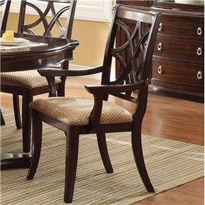 Crown Mark Katherine Dining Arm Chair