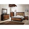 Crown Mark Kelda Queen Bedroom Group - Item Number: B7700 Q Bedroom Group 1