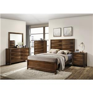 Crown Mark Kelton Queen Bedroom Group