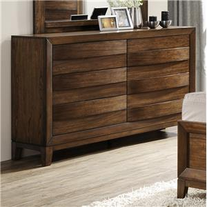 Crown Mark Kelton 6-Drawer Dresser
