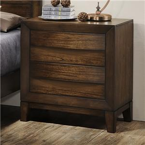 Crown Mark Kelton 2-Drawer Nightstand