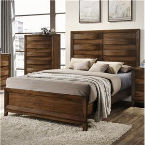 Crown Mark Kelton King Panel Bed