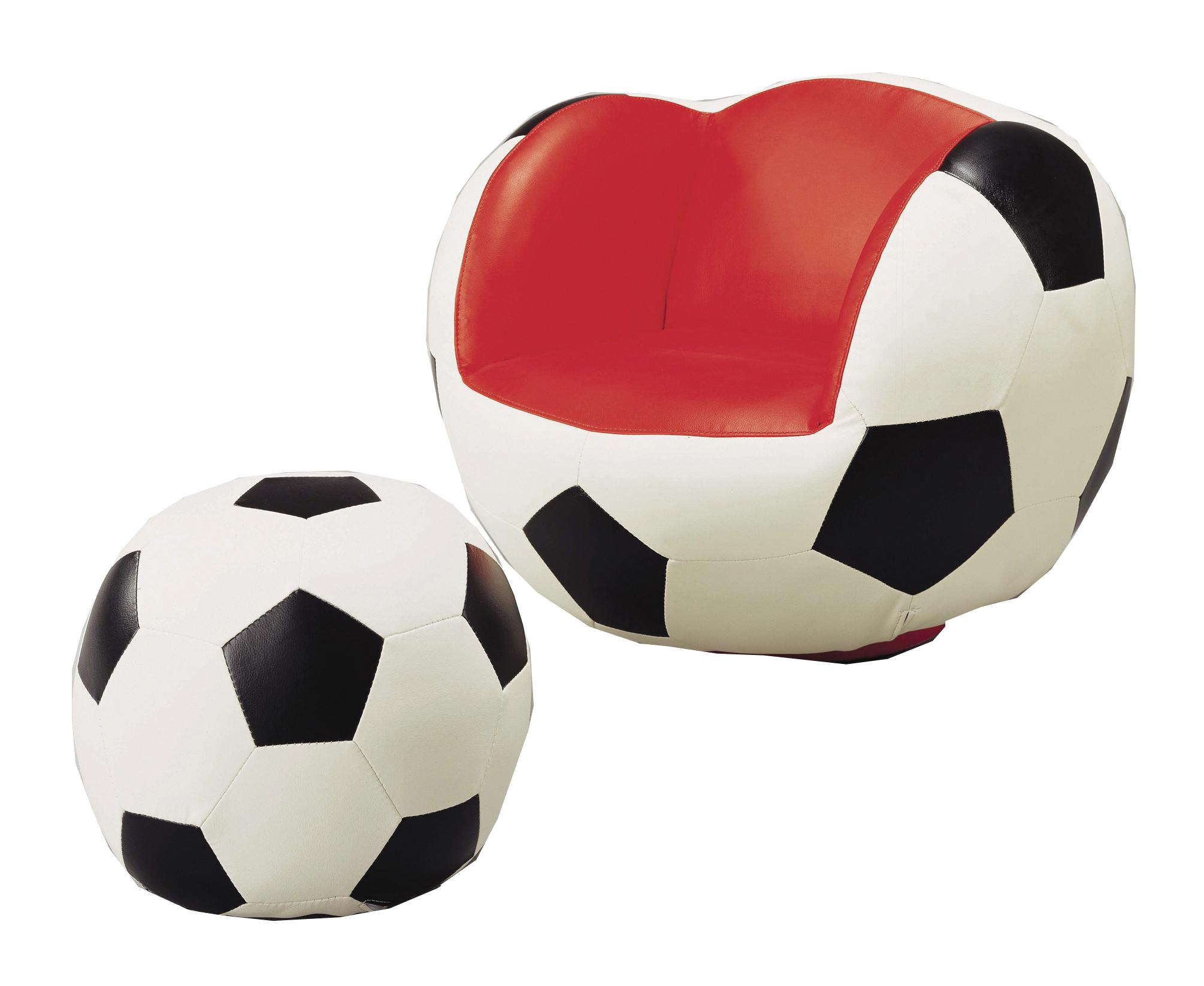 Crown Mark Kids Sport Chairs Soccer Chair & Ottoman - Item Number: 7004