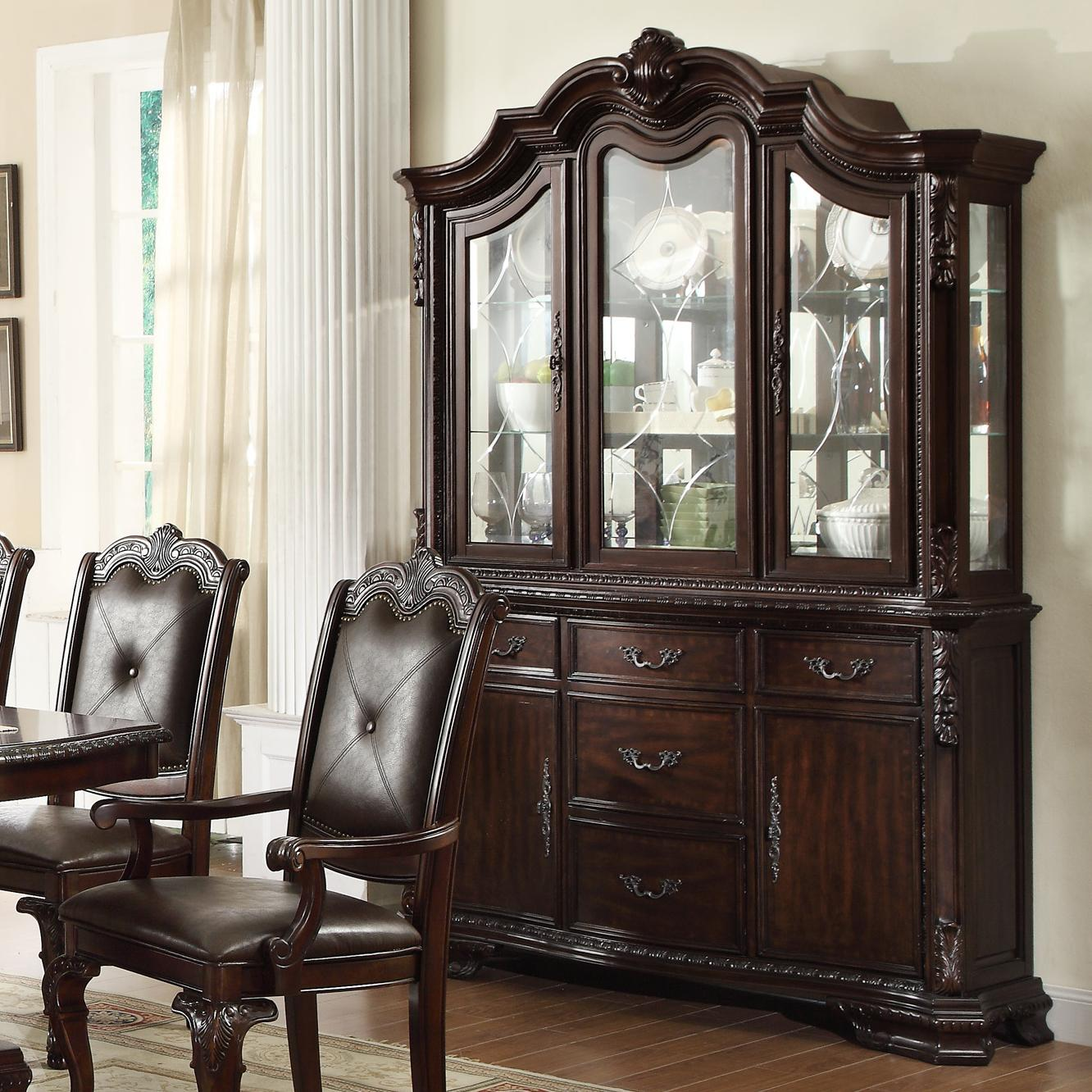 Crown Mark Kiera Buffet and Hutch - Item Number: 2150-B+H