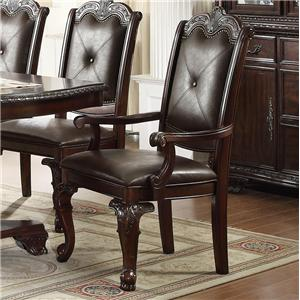 Crown Mark Kiera Arm Chair