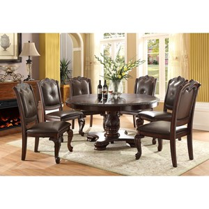 Crown Mark Kiera Round Dining Table