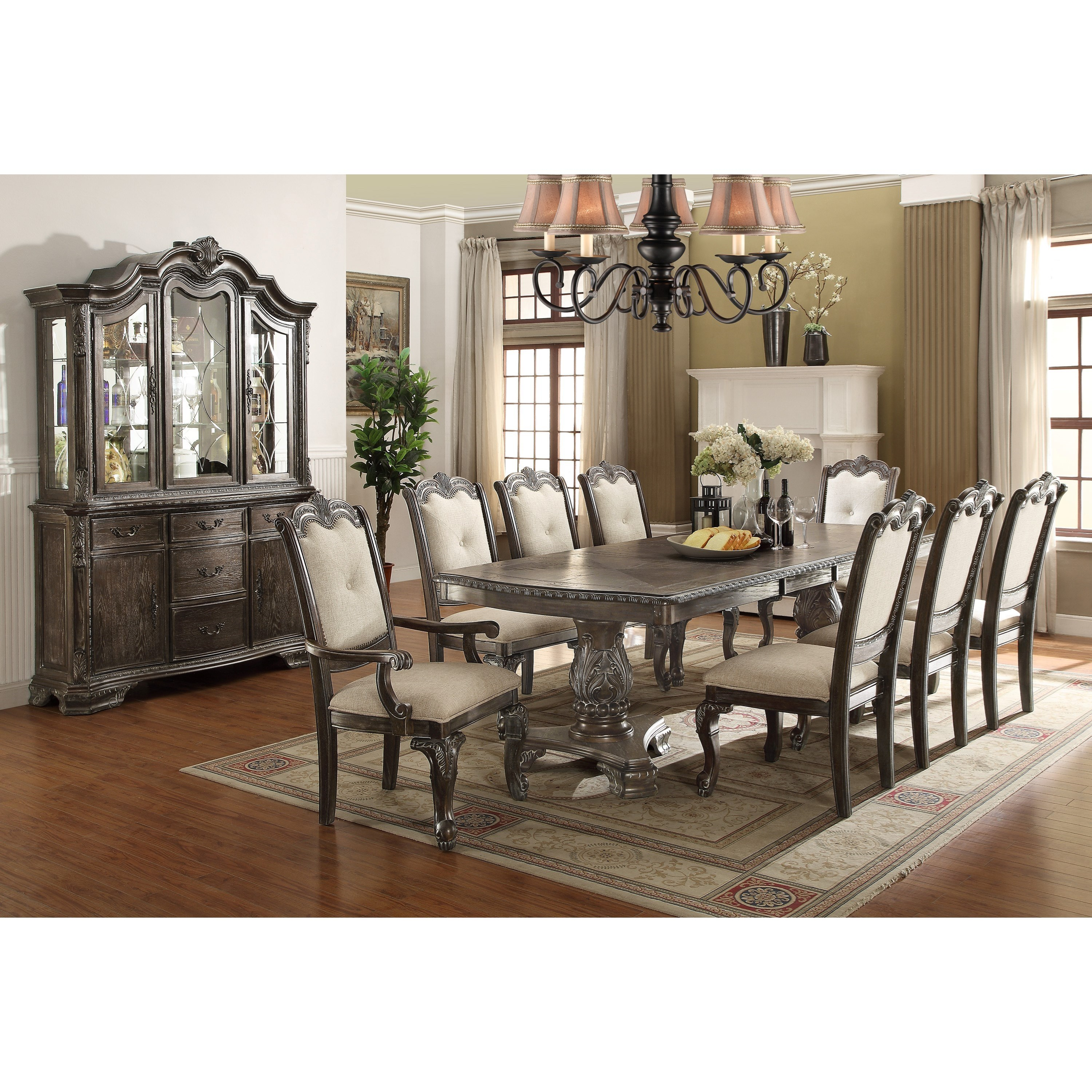 Formal Dining Room Furniture Manufacturers: Crown Mark Kiera Formal Dining Room Group