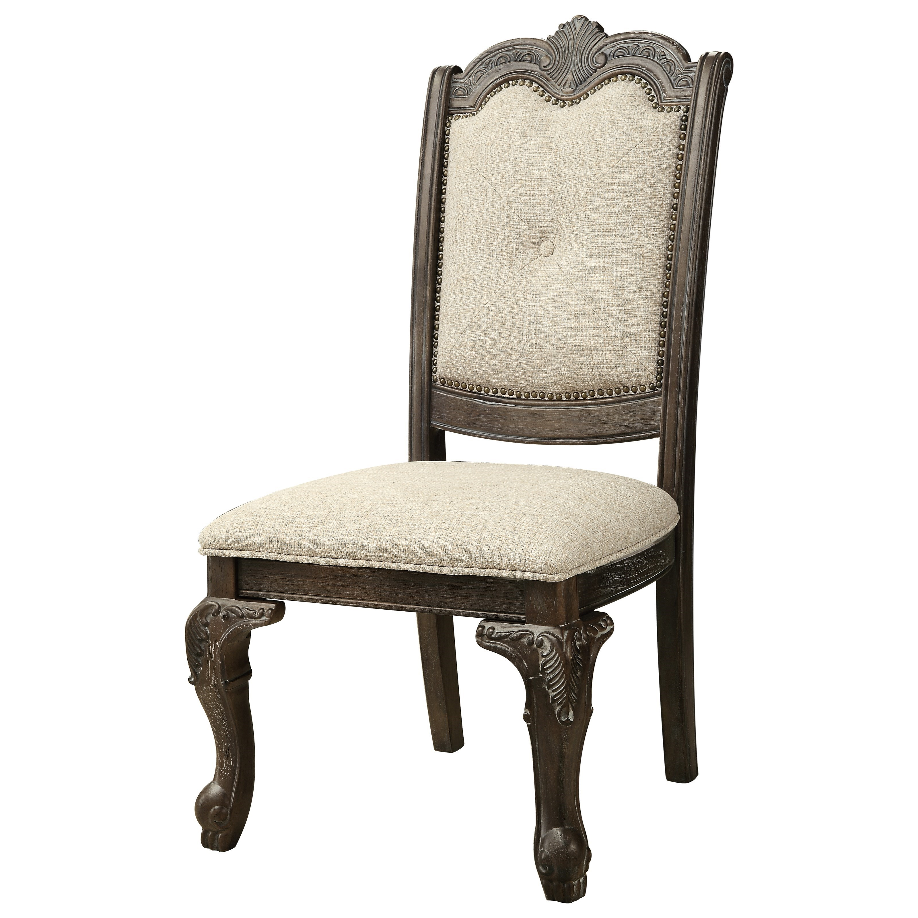Kiera Side Chair by Crown Mark at Darvin Furniture