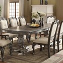 Rooms Collection One Kiera Dining Table - Item Number: 2151T-44108-LEG+TOP