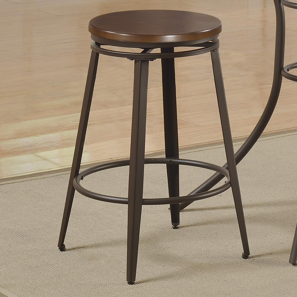 Crown Mark Kylie Counter Height Swivel Stool - Item Number: 1718S-24
