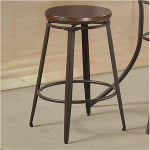 Crown Mark Kylie Counter Height Swivel Stool