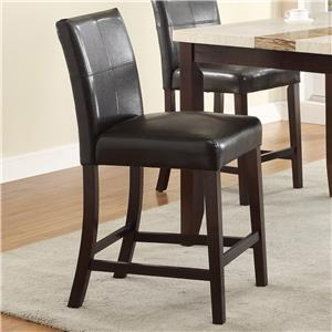 Crown Mark Larissa Counter Height Chair