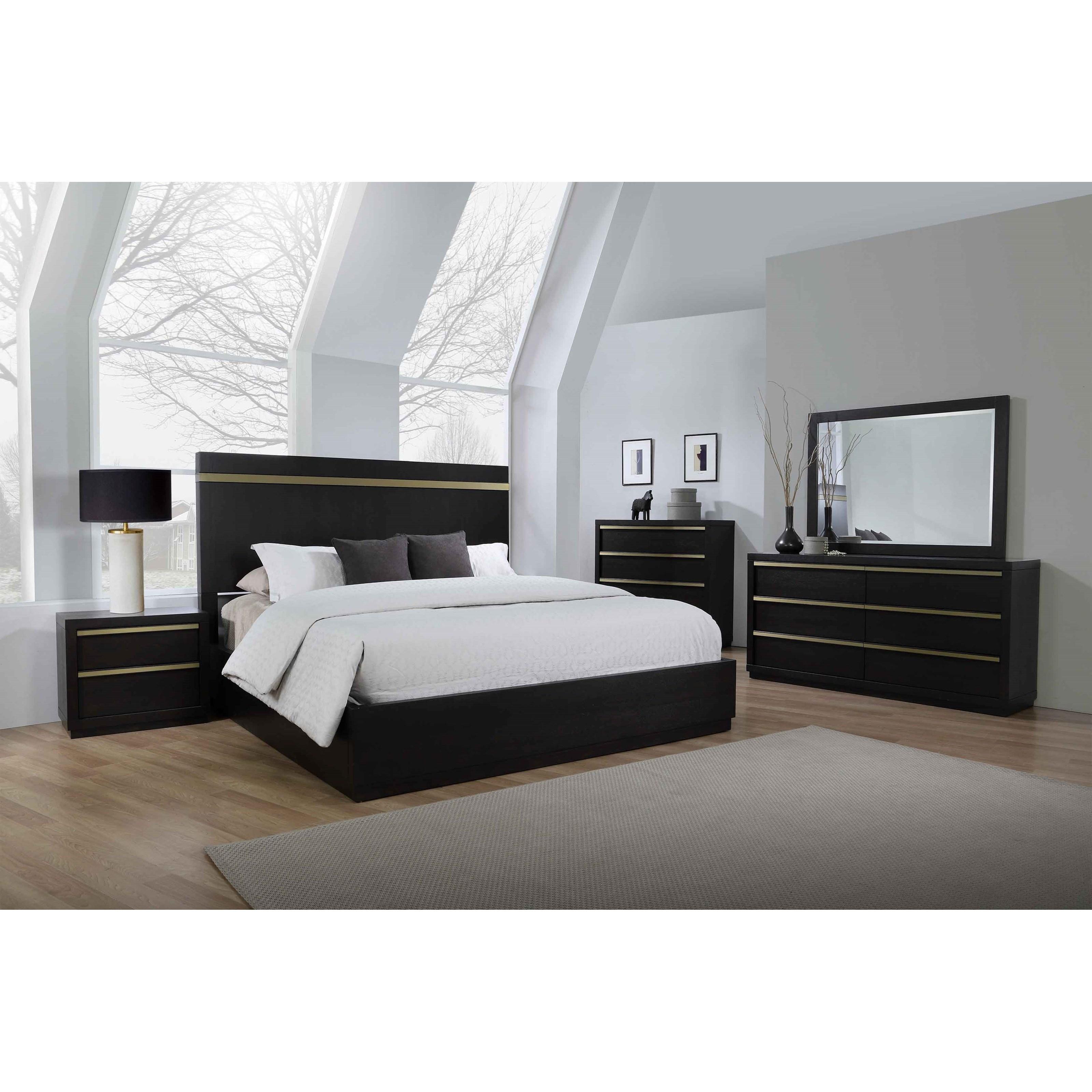 Crown Mark Lastra Queen Bedroom Group Nassau Furniture