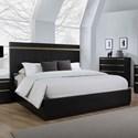 Crown Mark Lastra King Platform Bed - Item Number: B8220-K-HB+K-FB+KQ-RAIL