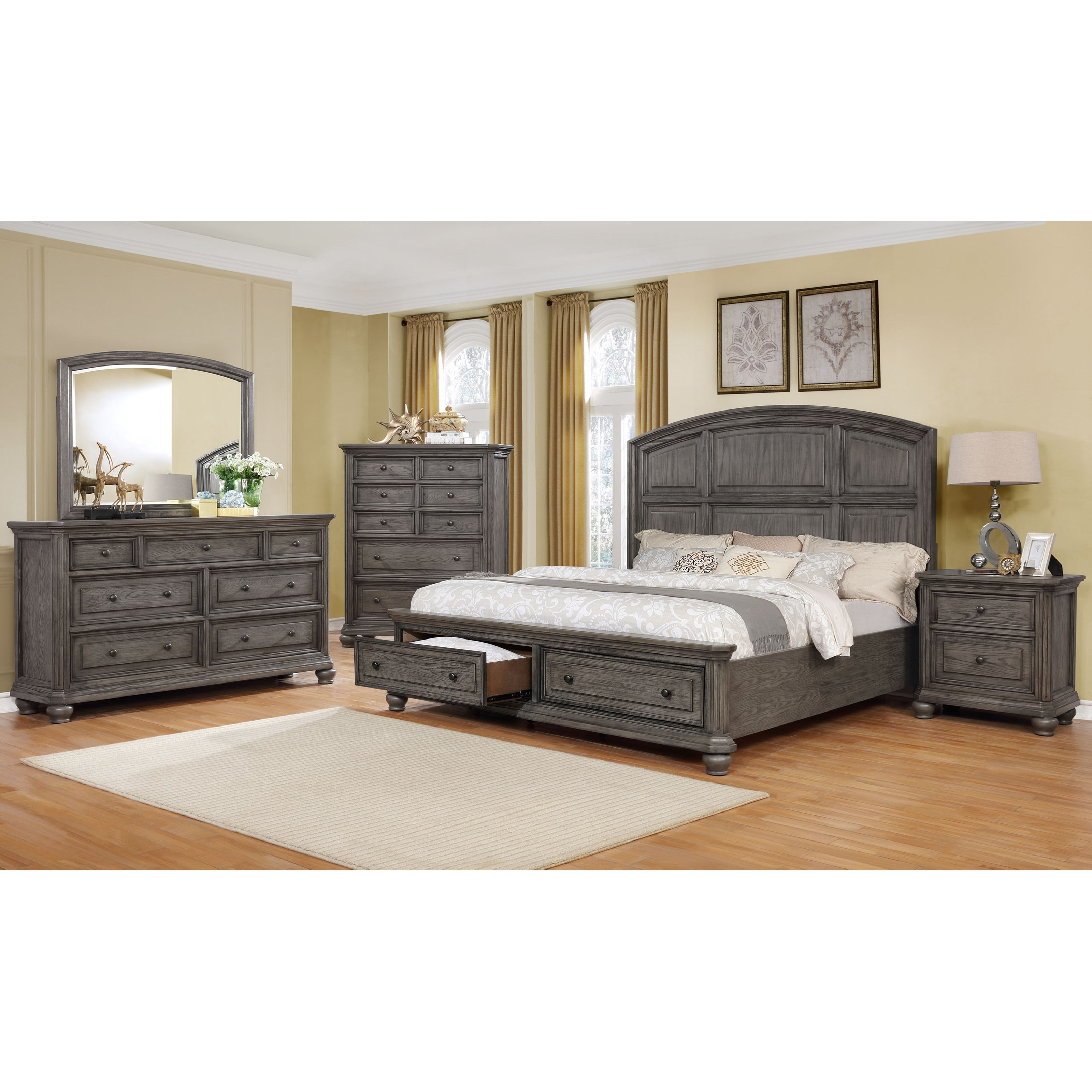 Crown Mark Lavonia King Bedroom Group