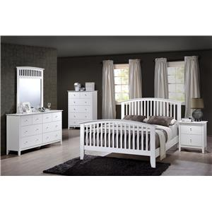 Crown Mark Lawson King Bedroom Group