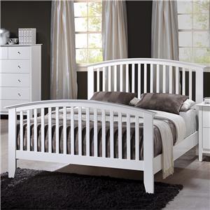 Crown Mark Lawson California King Slat Bed