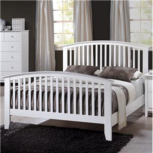 Crown Mark Lawson King Slat Bed