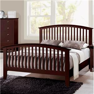 Crown Mark Lawson  Twin Slat Bed