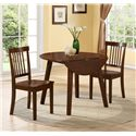 Crown Mark Liam Dining Side Chair with Spindle Back Design