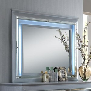 Crown Mark Lillian Dresser Mirror