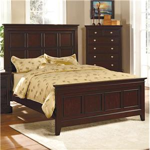 Crown Mark London King Panel Bed