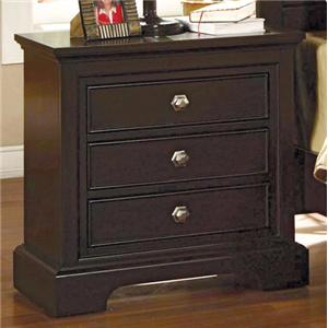 Crown Mark London Night Stand