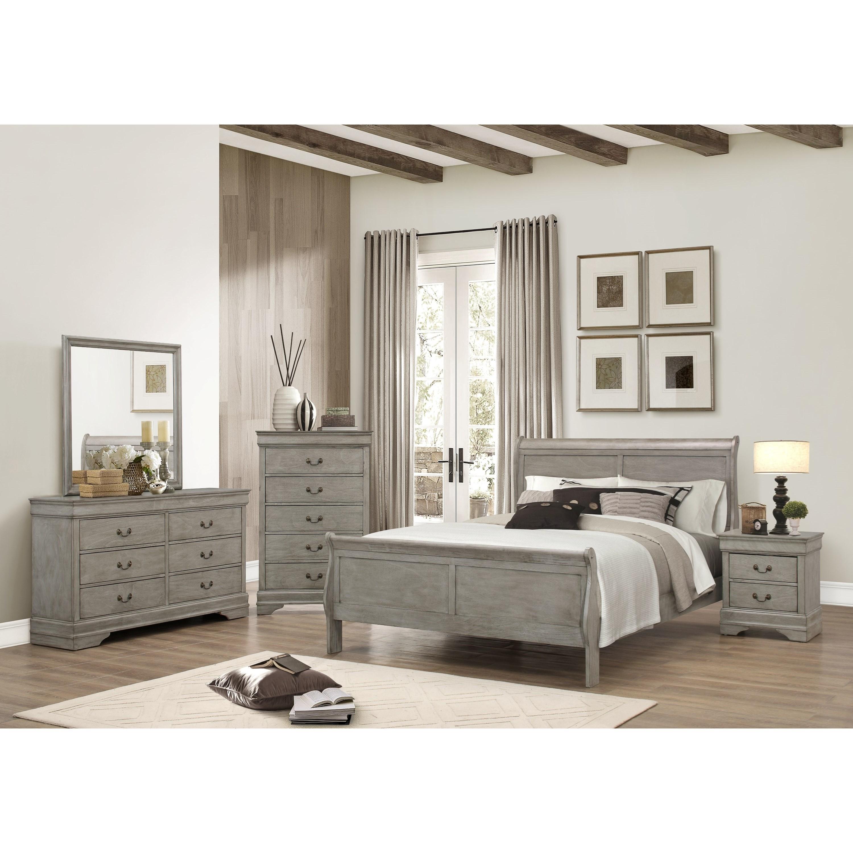 Crown Mark Louis Phillipe Twin Bedroom Group - Item Number: B3500 T Bedroom Group 1