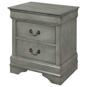 Crown Mark Louis Phillipe Nightstand - B3500-2