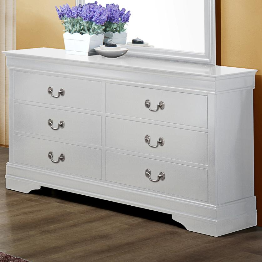 Crown Mark Louis Phillipe Dresser - Item Number: B3600-1